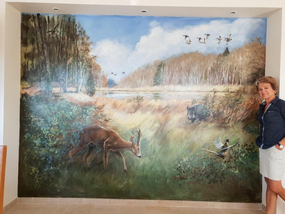 Petite fresque – Fresques 3 x 2,2 m