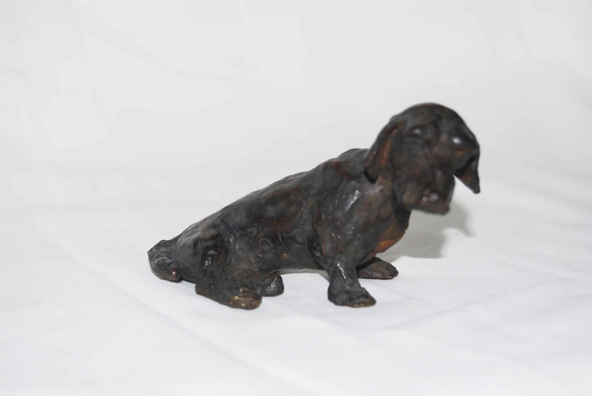 Kaninchen - Sculpture bronze 5 x 1x 9 cm – Prix ** dispo à partir du 3/8