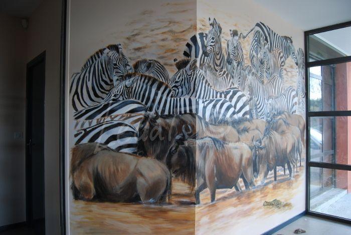 Armurerie Granger Fresques 3,50 x 2,80 m²